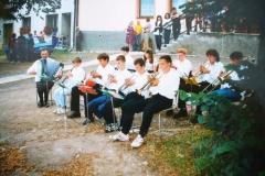 Otevření restaurace Kratochvíl v Kamenici červen 1998